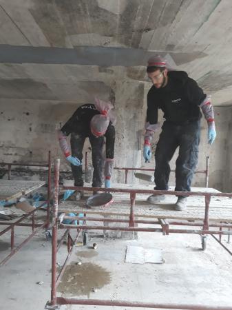 חיזוק ושיקום בית פרטי בחיפה