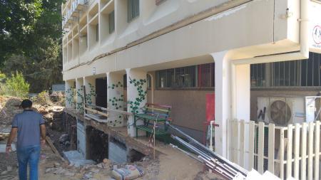 חיזוק בתי ספר מפני רעידות אדמה